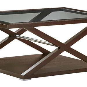 Halifax Rectangular Glass Top Cocktail Table