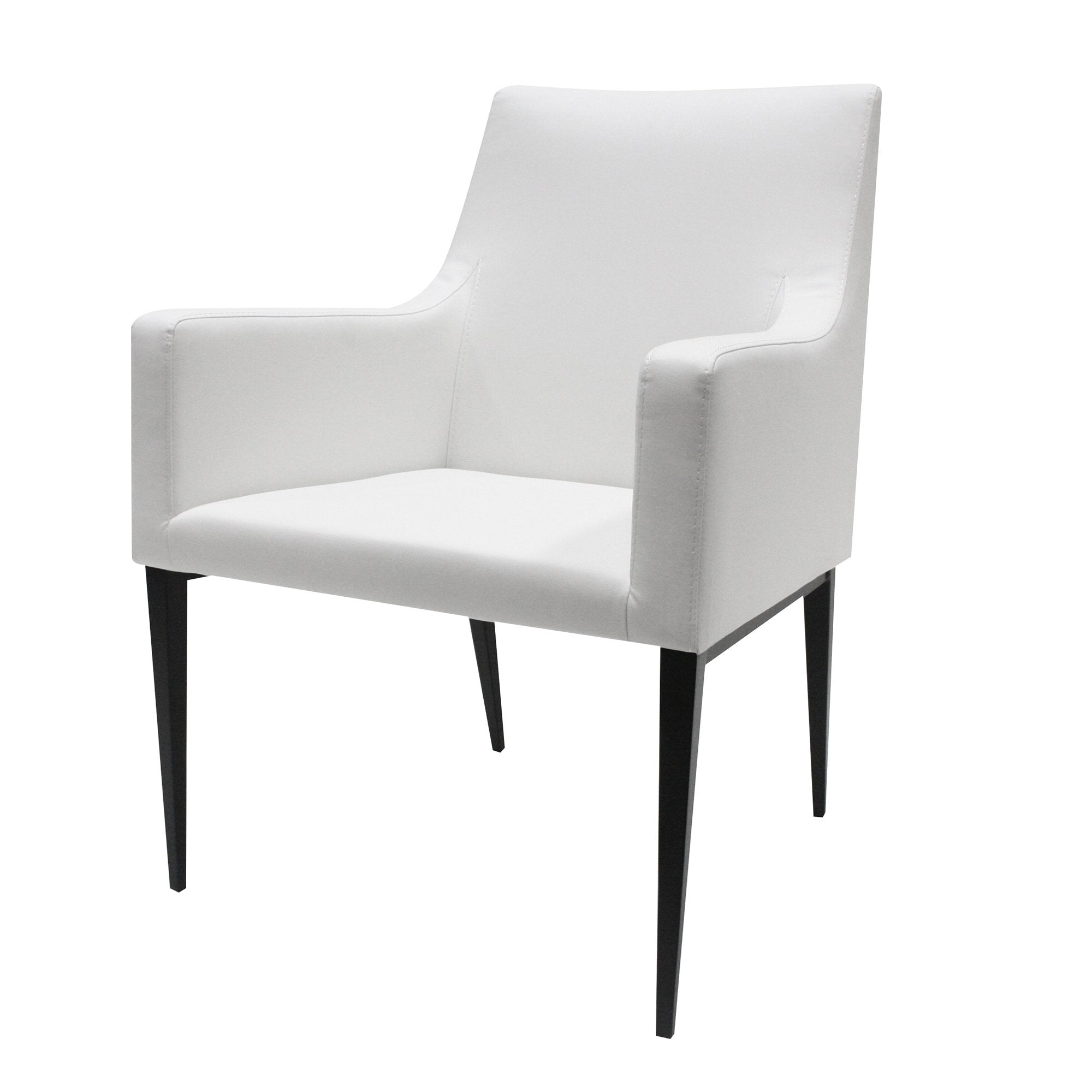 Lauren Dining Chair in Ivory White