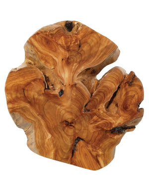 Acre Wall Art in Natural Fir Wood (Set of 3)