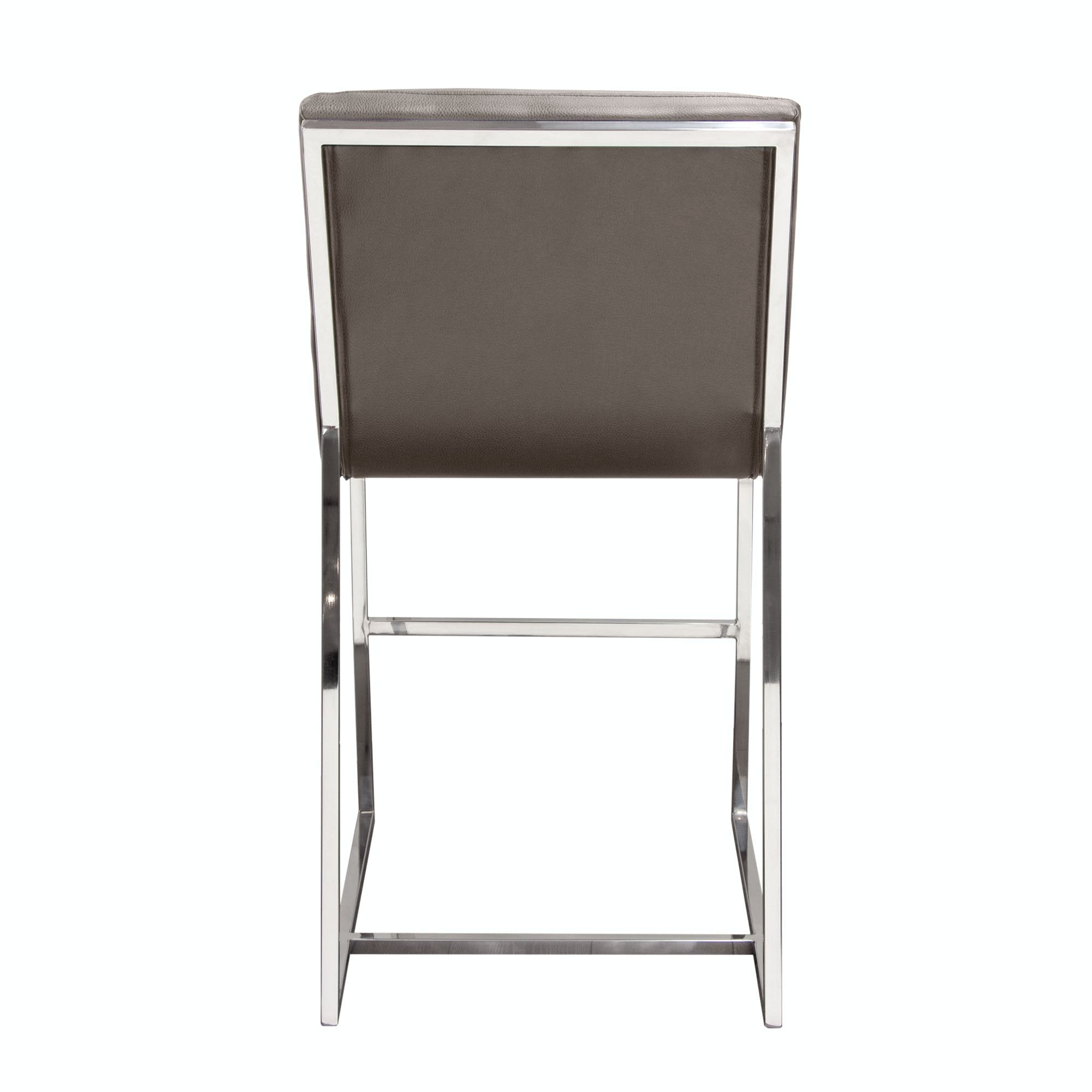 Bardot Counter Height Chair-Grey