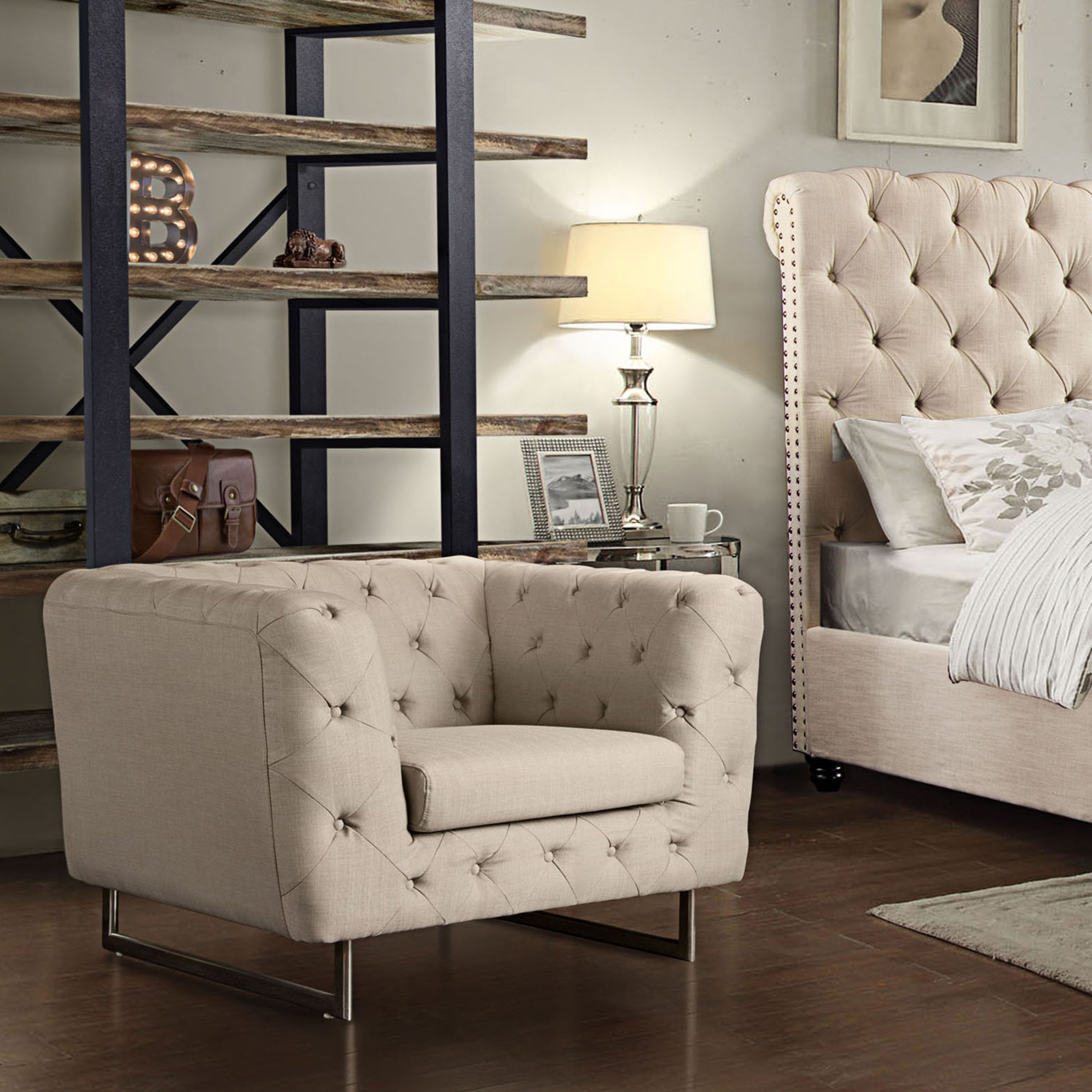 Catalina Tufted Chair-Sand