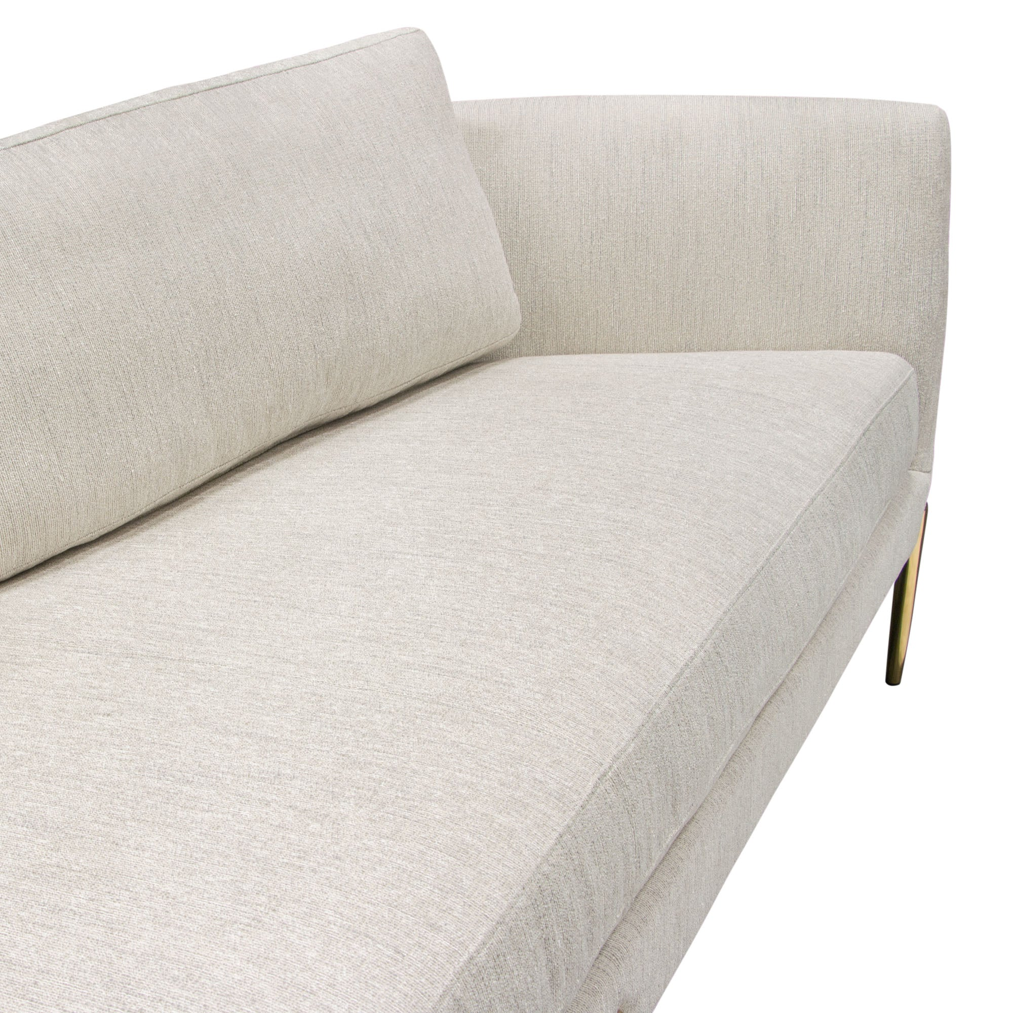 Lane Sofa in Light Cream Fabric