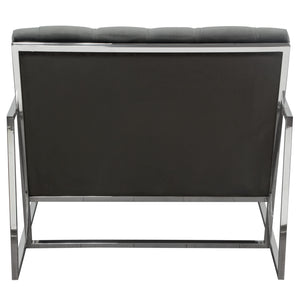Luxe Accent Chair in Dusk Grey