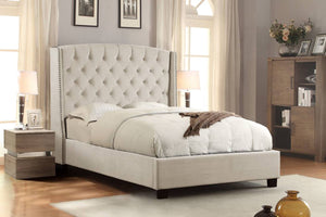 Majestic Eastern King Bed in Tan