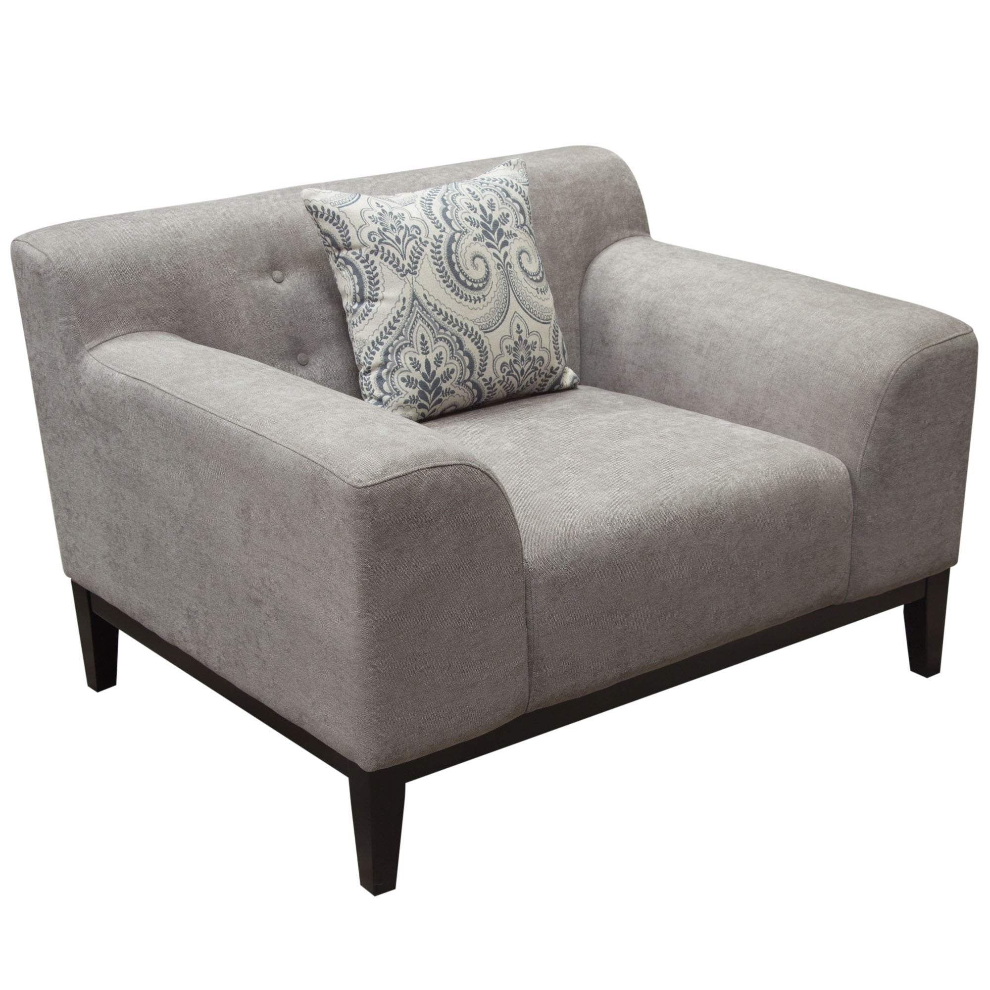 Marquee Tufted Back Chair in Moonstone