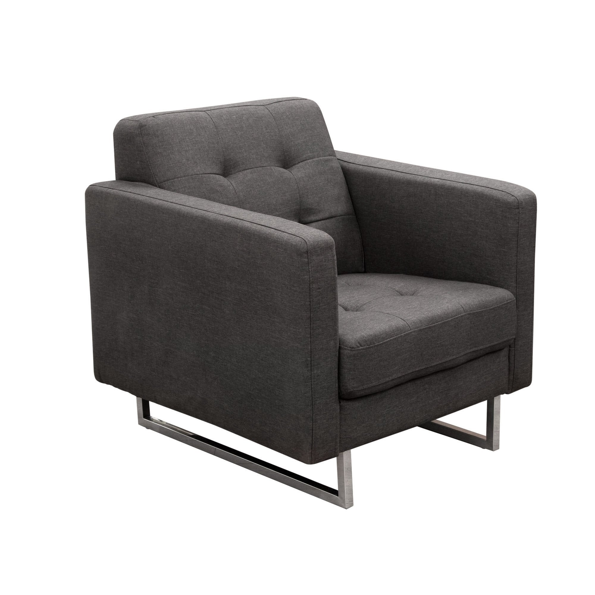 Opus Tufted Chair by Diamond Sofa
