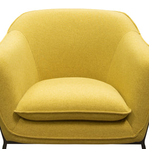 Status Accent Chair in Yellow