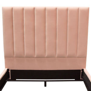 Venus Vertical King Bed in Pink