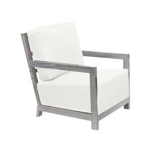 Zen Accent Chair - White