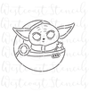 PYO Baby Yoda in Ship