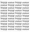 Happy Easter Text Background