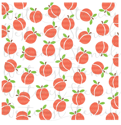 Peach Background, Large