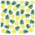 Pineapple Background, 2 Piece