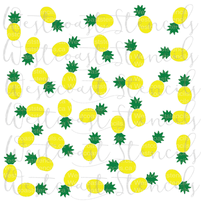Pineapple Background, Small