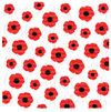 Poppy Background, Large