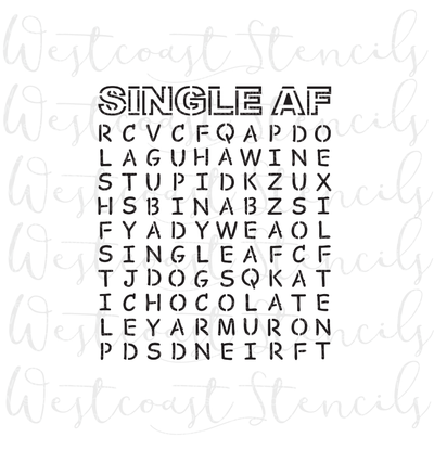 Single AF Word Search