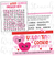 DIGITAL Valentine Word Search Bag Topper