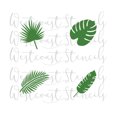 Tropical Leaf Set