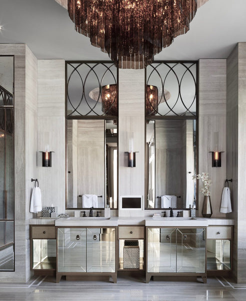 Glam Bathrooms
