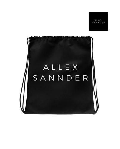 ALLEXSANNDER | BASIC DRAWSTRING BAG BLACK