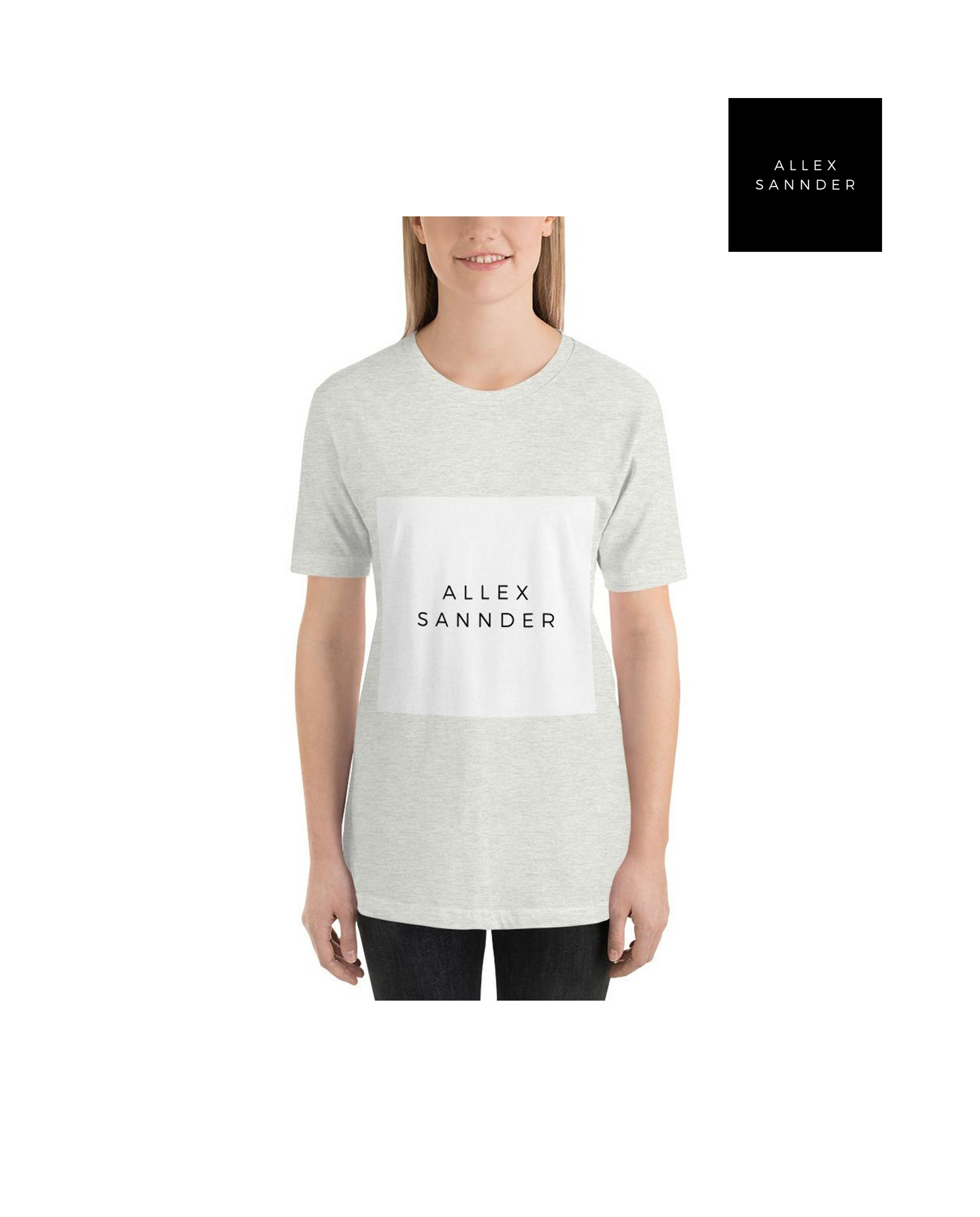 ALLEXSANNDER | WOMENS BASIC TEE WHITE