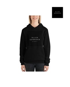 ALLEXSANNDER | WOMENS MMXVIII FLEECE HOODIE BLACK