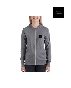 ALLEXSANNDER | WOMENS BASIC ZIP BLACK
