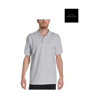 Load image into Gallery viewer, ALLEXSANNDER | MNS FLAG POLO BLACK