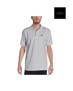 ALLEXSANNDER | MNS FLAG POLO BLACK