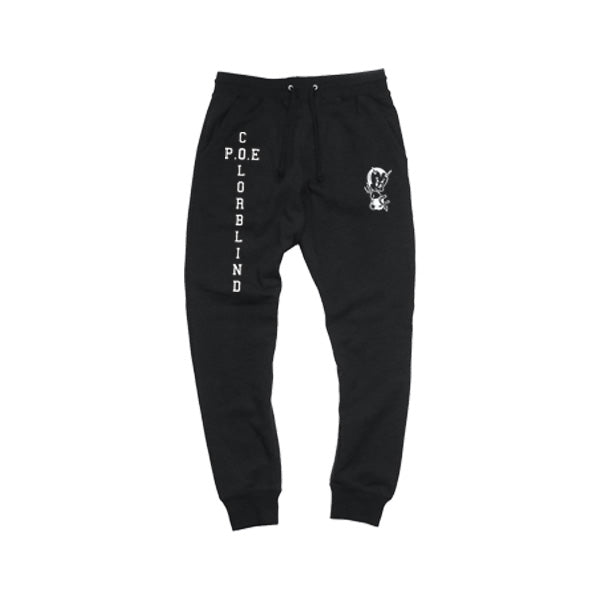 P.O.E SWEATS (BLACK)