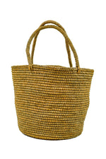 Large Natural Woven Straw Bag