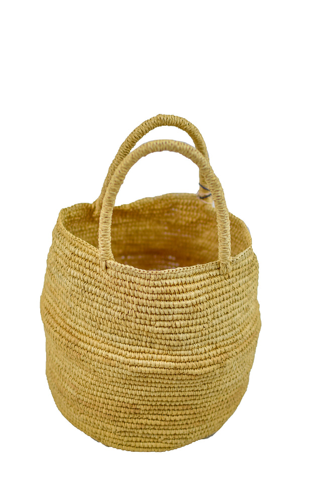 Natural Woven Straw Bag
