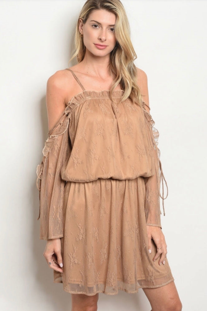 Ann Lace Up Dress