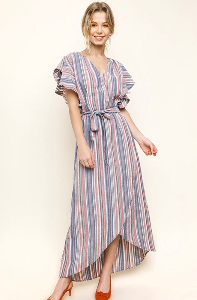 Maria Striped Dress