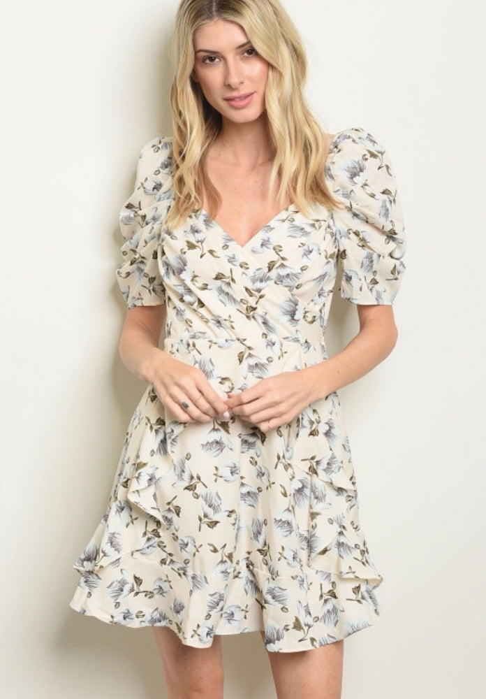 Irene Floral Dress