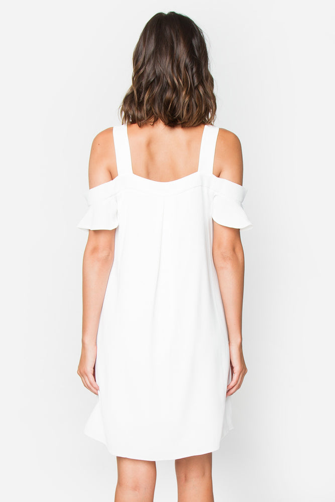 Cabana Cold Shoulder Dress