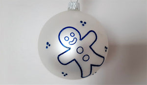 Christmas Ornament - Gingerbread Man