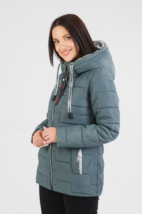 Fall-Spring Puffer Jacket Easy