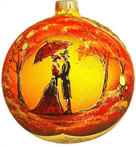 Christmas Ornament - Love Story