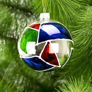 Christmas Ornament - Colorful Geometry