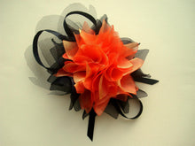 Load image into Gallery viewer, Organza Flower Hair Clip