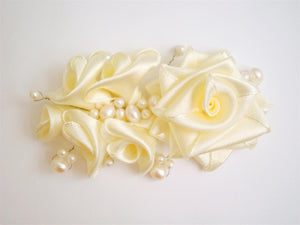 Sample Bridal Hair Clip with Pearls