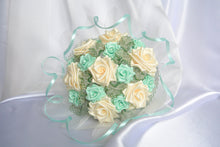 Load image into Gallery viewer, Sample Bridal Bouquet - Ribbon Roses
