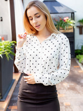 Load image into Gallery viewer, Polka Dot Blouse