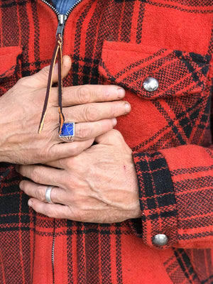 Vintage Buffalo Plaid Jacket