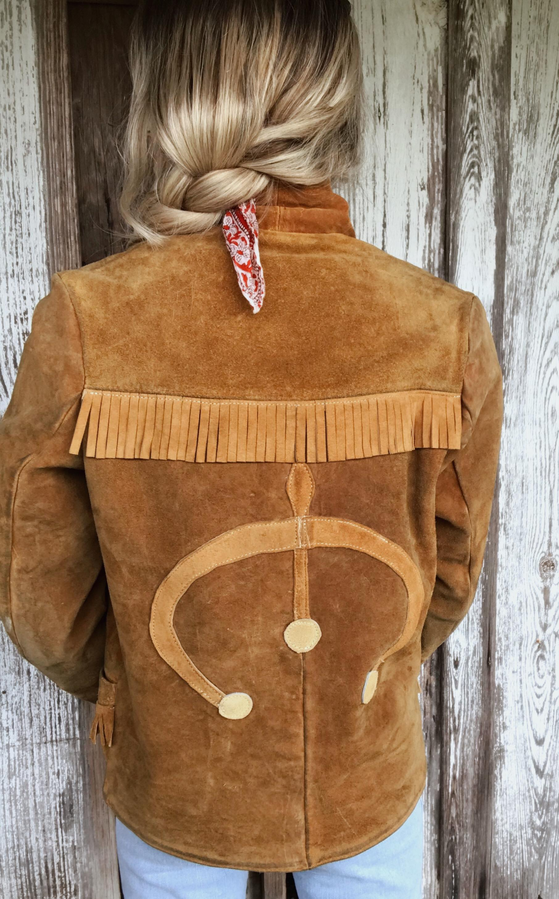 One of a Kind Suede Jacket