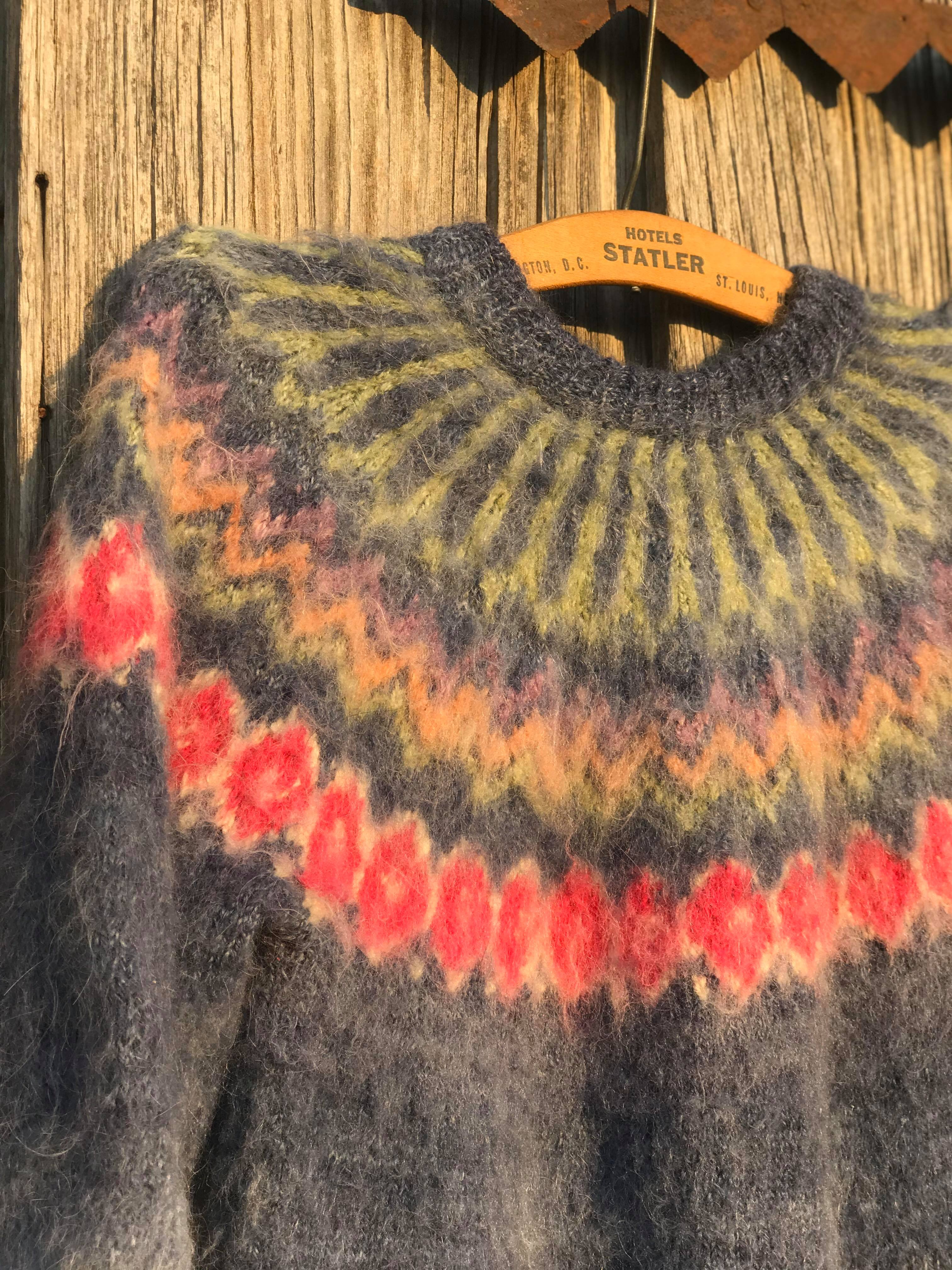 Vintage Soft Alpaca Sweater