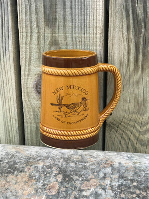 Vintage New Mexico Roadrunner Mug (large)