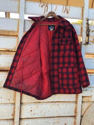 Vintage Buffalo Plaid Coat
