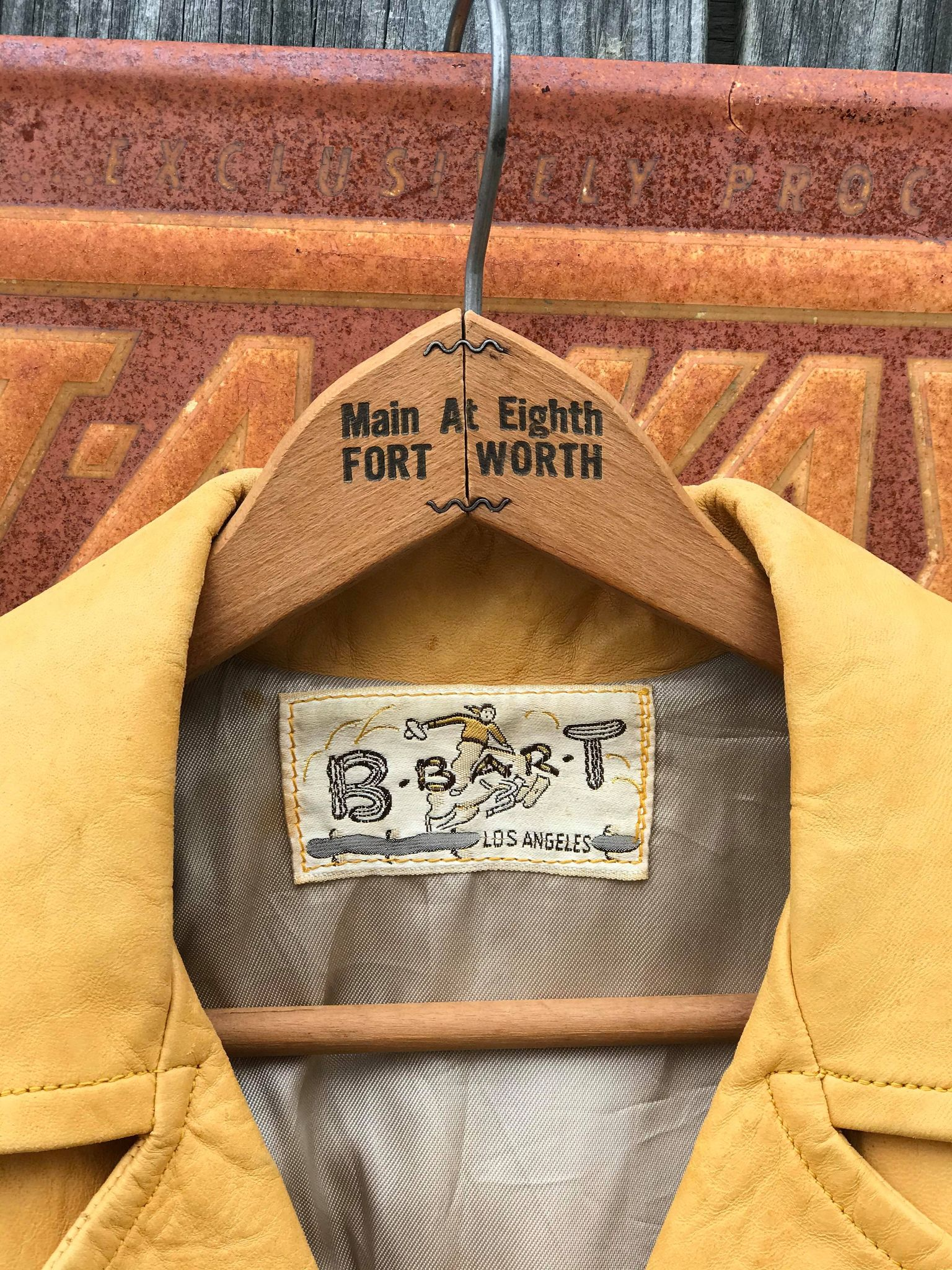 Vintage Soft Deerskin Jacket from the 1950's